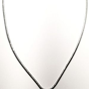 """18"""" Sterling Omega Chain"""